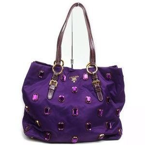 SALE SAT&SUN ONLY Auth Jeweled Prada Bag